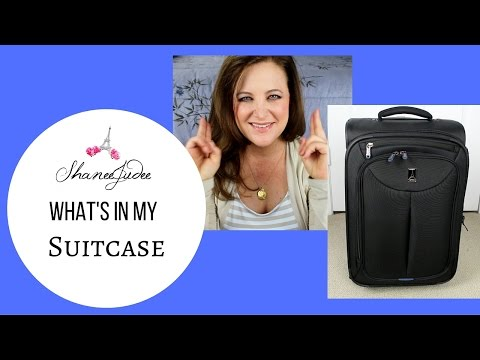 Whats In My Suitcase - How To Pack Like A Flight Attendant!