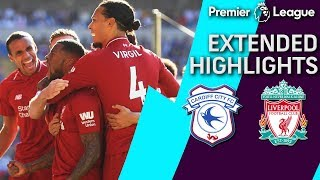 Cardiff City v. Liverpool PREMIER LEAGUE EXTENDED HIGHLIGHTS 42119 NBC Sports