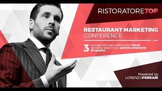 Restaurant Marketing Conference | 3 Accorgimenti di Menu Engineering per trasformare il menù