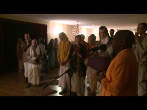 2011.01.14. Mangala Arati - Vaishnava Winter Festival - Lithuania video