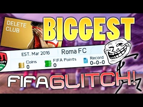 THE BIGGEST GLITCH ON FIFA 16 PRANK!!!
