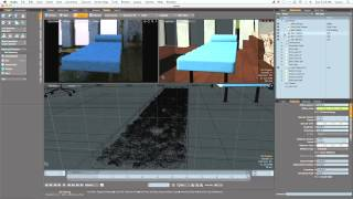 Architectural Lighting in MODO Tutorial: Day Bed