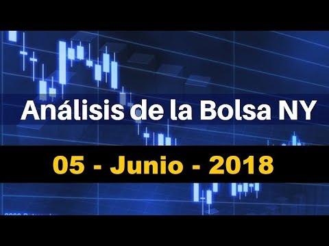 Analisis de la Bolsa de Valores de Nueva York para el dia martes 5 de Junio de 2018 thumbnail