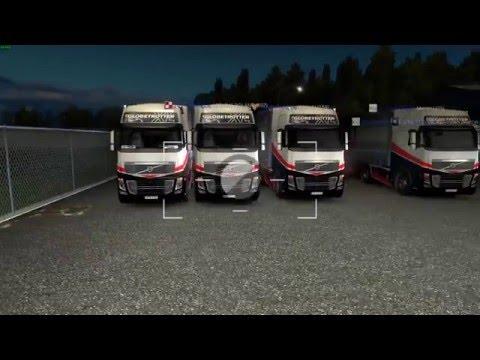 Euro Truck Simulator 2 Konwój Firmowy #3  1/4 W/MrBartass444 PrezesGaming