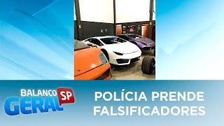 Polícia prende falsificadores de carros de luxo em Itajaí (SC)
