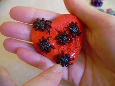 Polymer Clay Spider Heart/Shark/Octopus