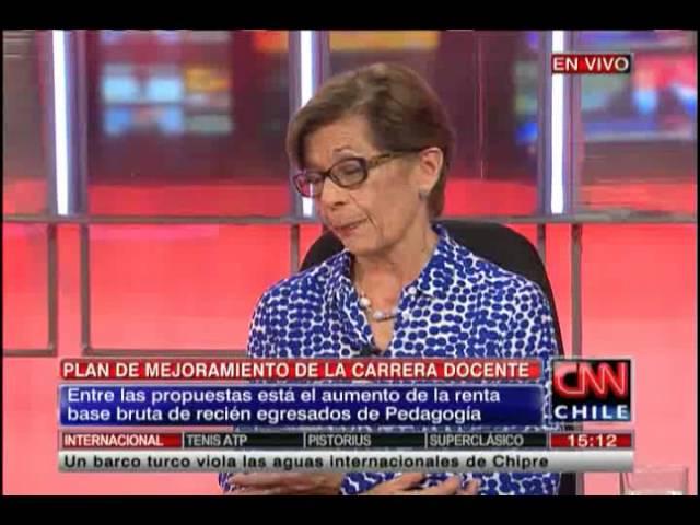 """Beatrice Ávalos abordó las mejoras que entrega el """"Plan Maestro"""" para la carrera docente"""