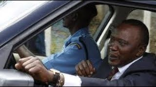 Uhuru surprises an early morning radio station.