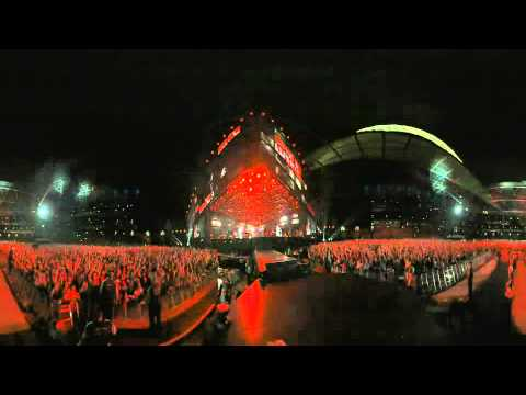Muse Uprising Wembley 2010 360° video