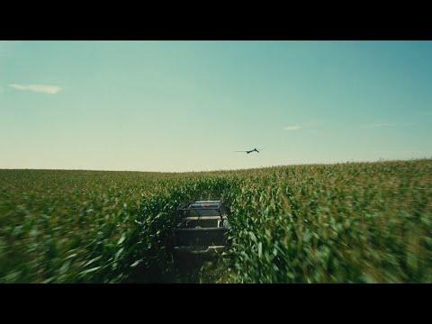 Interstellar - Christopher Nolan - Cornfield Drone Chase Scene [1080P HD]