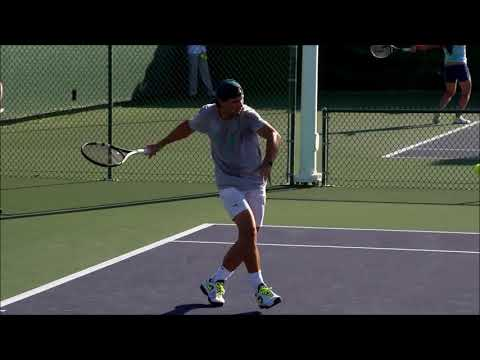 TENNIS - Rafael Nadal slow motion compilation MIRRORED