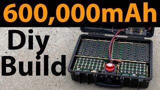 600,000mAh DIY Power Pack build