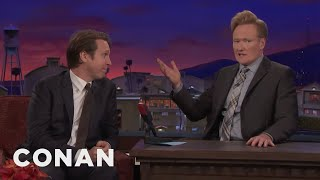 "Pete Holmes Thinks Expectant Dads Should ""Woman Up""  - CONAN on TBS"