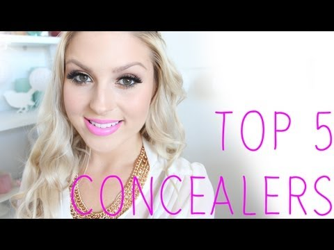 Top 5 ♡ Concealers! Under Eye, Dark Circles, Zit 'Cover Up'