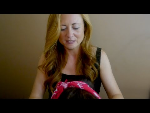 ❥❥❥••Binaural ASMR Head Massage & Real Hair Brushing❥❥❥••