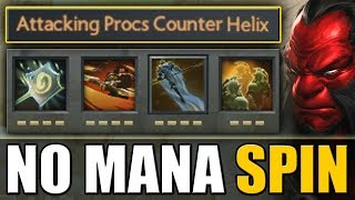 Spinning Army [Illusions + Attacking Procs Counter Helix] Dota 2 Ability Draft