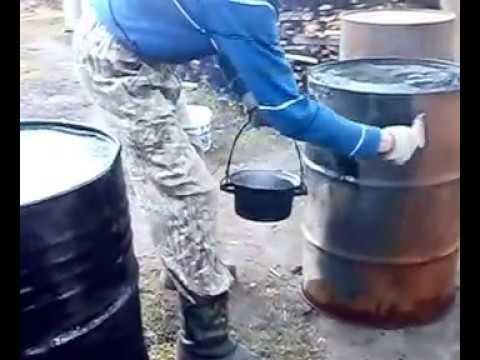 Как защитить стальные бочки от коррозии!.avi