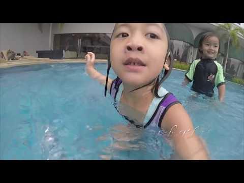 #2 Mermaid style Underwater - Kolam renang anak Swimming pool kids Weekend LifiaNiala - GoPro