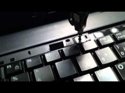 Wymiana klawiatury - DELL Latitude E6410