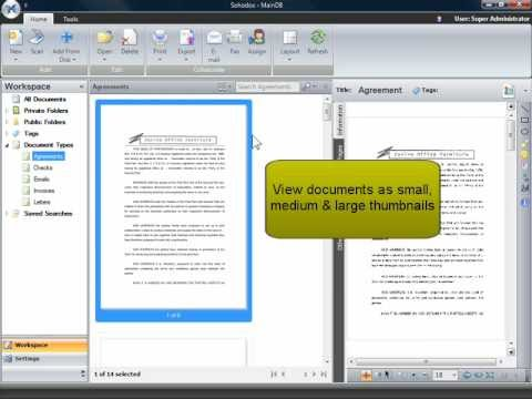Sohodox Document Management System