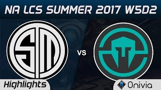 TSM vs IMT Highlights Game 1 NA LCS Summer 2017 Team Solo Mid vs Immortals by Onivia