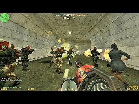 Counter-Strike CZ - Zombie Mod [CSO] - zm_tankard_cso - SISA Server