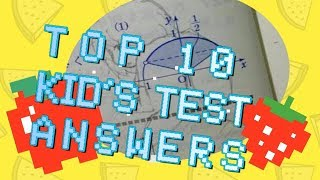 TOP 10 Hilarious Test Answers // Sweing