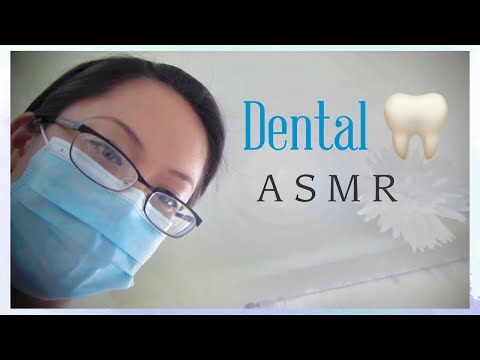 ASMR 3D Roleplay Dental Visit Cleaning Relaxation Sleep Aid