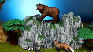 Learn Zoo Animal Names! Educational Toy Video for Kids, Toddlers!
