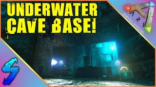 Ark Survival Evolved Gameplay | UNDERWATER CAVE BASE!! | HD 60FPS