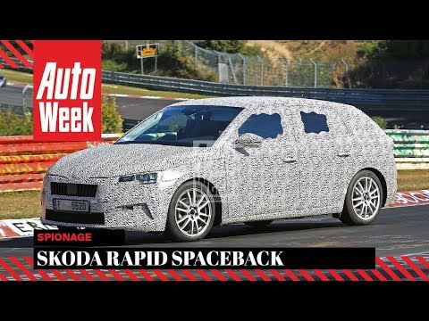 Skoda Rapid Spaceback - Spionage