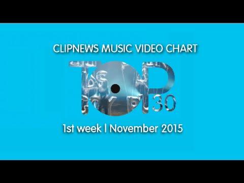 ClipNews Music Video Chart | Top 30 | 1st Week, November 2015