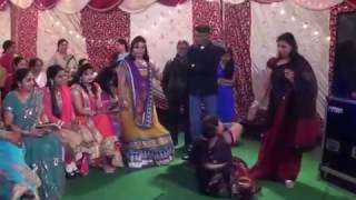 Funny dance by Indian Women in Marriage Party.. Enjoy
