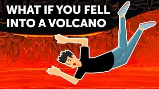Would You Survive If You Fell into a Volcano?