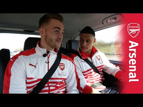 Chambo and Chambers car banter