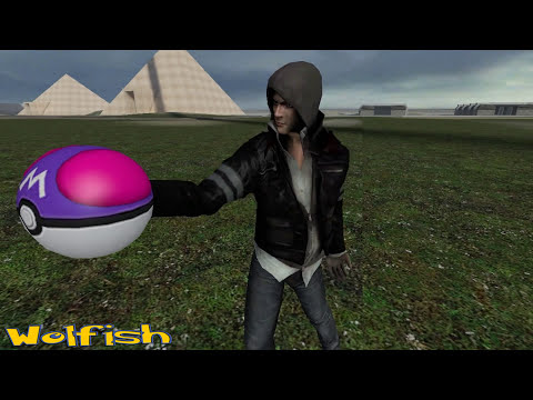 Wolfish VS Ash ketchum : POKEMON BATTLE GMOD - ESPECIAL 3.0K! SUBS