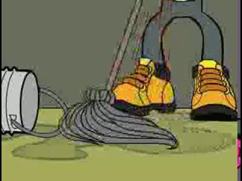 Seguridad Industrial - Orden y limpieza en la zona de trabajo