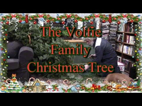 The Volfie Family Christmas Tree! Because You Asked!