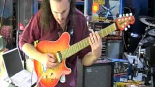 Boss ME-70 demo with Alex Hutchings @ PMT - Part 1 of 2