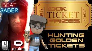 BEAT SABER 100K Contest - Golden Ticket Challenge! // Oculus Rift + Touch // GTX 1060 (6GB)