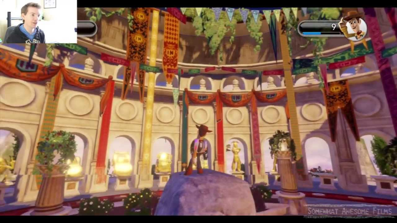 Disney Infinity Completed Hall of Heroes - YouTube