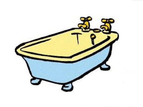 Видео как нарисовать ванную