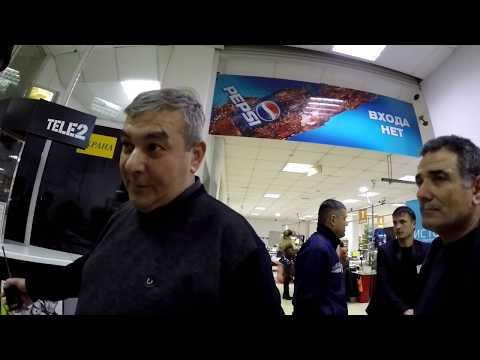 Владивостокские охранники супермаркета МАНДАРИН - завуалированное хулиганьё !