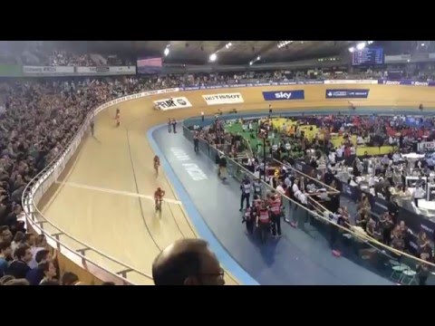 Bradley Wiggins & Mark Cavendish win world Madison championships 2016