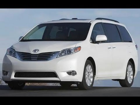 2013 Toyota Sienna Start Up and Review 3.5 L V6 LE