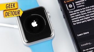 How to update Apple Watch: updating to WatchOS 2 needs an iPhone with iOS 9