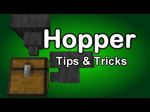 Minecraft Hopper Tutorial Part 1