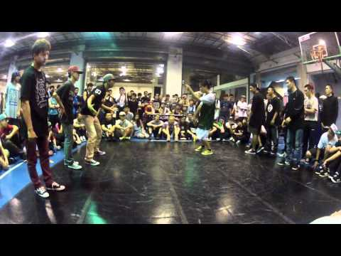 KOD vol.8 BREAK 3 ON 3 KOREAN SQUAD VS CHINA BBOY [ROUND of 16]