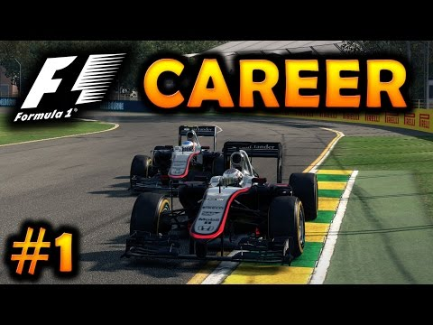F1 2015 Season Mod Career Part 1: Australia | Mclaren Honda