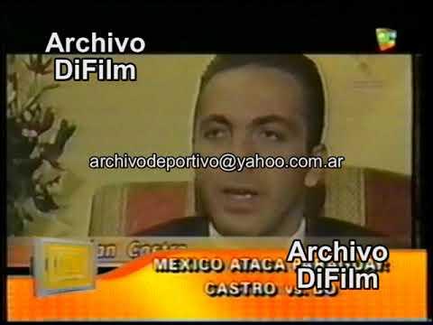Cristian Castro contra Gabriela Bo - DiFilm 2004